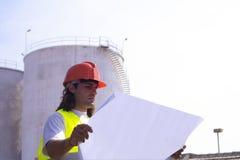 Assistente tecnico Fotografia Stock Libera da Diritti