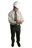 Assistente tecnico che cattura le note - completi Immagini Stock