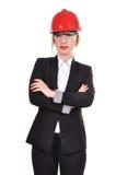 Assistente tecnico della donna Immagini Stock