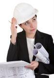 Assistente tecnico della donna. Immagini Stock
