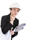Assistente tecnico della donna. Fotografie Stock Libere da Diritti