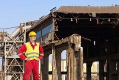 Assistente tecnico di demolizione Immagini Stock