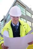 Assistente tecnico di progetto Immagine Stock