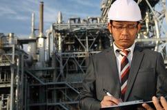 Assistente tecnico industriale chimico Immagini Stock Libere da Diritti