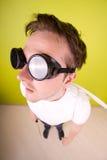 Assistente tecnico insolito. Fotografie Stock Libere da Diritti