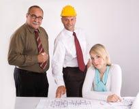 Assistenti tecnici alla riunione Immagine Stock Libera da Diritti
