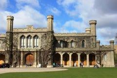 Assize Hof binnen Lincoln Castle, Lincoln Royalty-vrije Stock Afbeeldingen