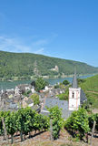 Assmannshausen,Rhine River,Germany Royalty Free Stock Photo