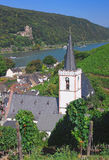 Assmannshausen,Rhine Valley stock photo