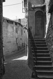 Asso Como, Italy, typical old street Royalty Free Stock Photography