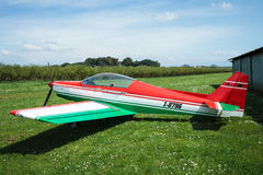 Asso IV Whisky Ultralight Airplane Royalty Free Stock Image
