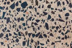 Assoalho concreto lustrado do granito imagem de stock