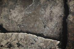 Assoalho curvado da pedra Fotos de Stock