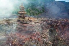 Assoalho da cratera Imagens de Stock
