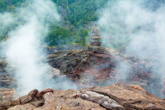 Assoalho da cratera Foto de Stock