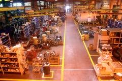 Assoalho da fábrica. Imagem de Stock