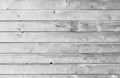 Assoalho da prancha do vintage ou superfície de madeira branca da parede foto de stock