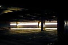 Assoalho de estacionamento vazio 4 fotos de stock royalty free