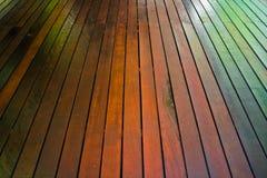 Assoalho de madeira Fotografia de Stock Royalty Free