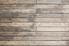 Assoalho de madeira ao ar livre Fotografia de Stock