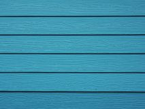Assoalho de madeira modelado, azul brilhante, listra da listra imagens de stock royalty free