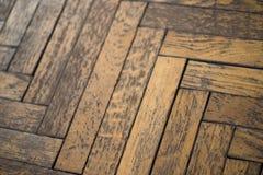 Assoalho de madeira sujo resistido velho fotos de stock royalty free