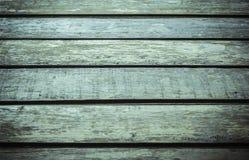 Assoalho de madeira velho, exterior Fotografia de Stock Royalty Free