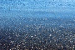 Assoalho de mar sob a onda Foto de Stock Royalty Free
