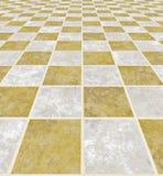 Assoalho de mármore Fotografia de Stock Royalty Free