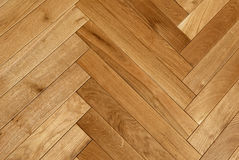 Assoalho de parquet de madeira Foto de Stock Royalty Free