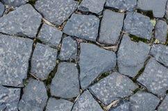 Assoalho de pedra do teste padrão Fotografia de Stock Royalty Free