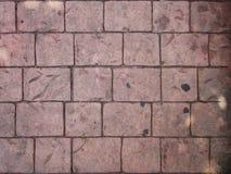 Assoalho de pedra do tijolo Fotos de Stock