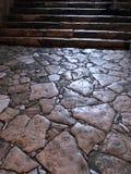 Assoalho de pedra de mármore em Hagia Sophia Istanbul fotografia de stock royalty free