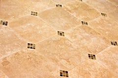Assoalho de telha cerâmica moderno Foto de Stock Royalty Free
