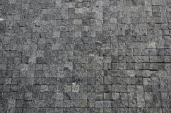 Assoalho de uma rua com telhas de pedra Foto de Stock