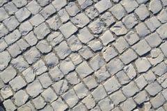 Assoalho do pavimento, linhas diagonais Fotografia de Stock Royalty Free