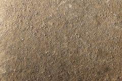 Assoalho do solo de Brown, assoalho de superfície do fundo Foto de Stock