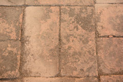Assoalho do tijolo Fotos de Stock Royalty Free