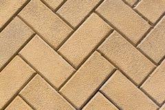 Assoalho, fundo e textura do tijolo Fotografia de Stock