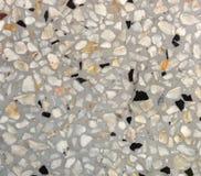 Assoalho modelado do terraço da textura, fundo de pedra lustrado do teste padrão fotos de stock