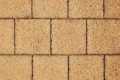 Assoalho rochoso telhado Fotografia de Stock