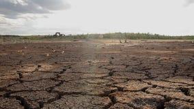 Assoalho seco de Canudos Velho, Brasil filme