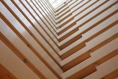 Assoalhos e linhas do hotel Foto de Stock Royalty Free