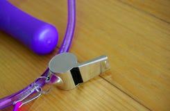 Assobio & Jumprope Imagem de Stock