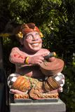 Assobio tradicional do músico da estatueta, Sanur, Bali, Indonésia Imagem de Stock Royalty Free