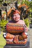 Assobio tradicional do músico da estatueta, Sanur, Bali, Indonésia Foto de Stock