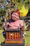Assobio tradicional do músico da estatueta, Sanur, Bali, Indonésia Fotografia de Stock Royalty Free
