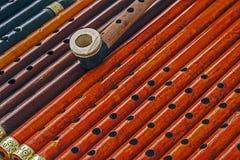 Assobios de madeira 1 Imagem de Stock Royalty Free