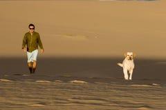 Associés dans les dunes Photos libres de droits