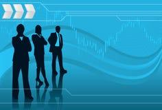 Associés financiers Photographie stock